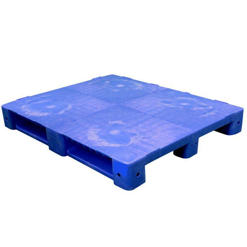 Colored Solid Deck Plastic Pallet