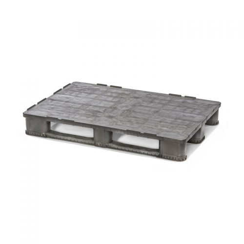 Freezer Safe Rackable Closed Deck Plastic Pallet