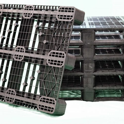OPen deck rackable plastic pallet