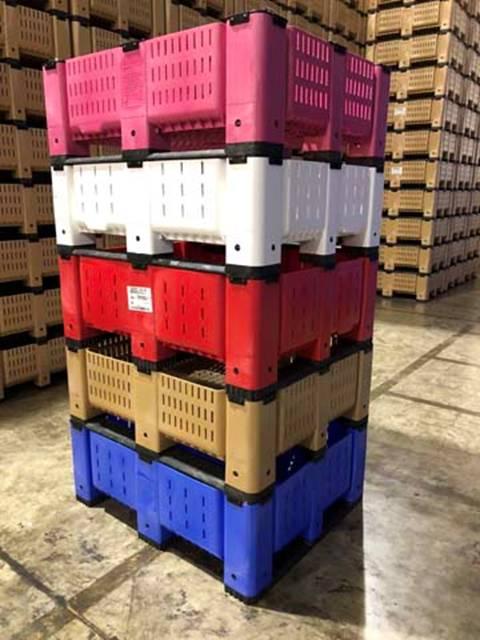 Shortened Bulk Container