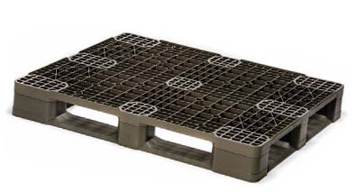 OPen deck rackable stackable plastic pallet