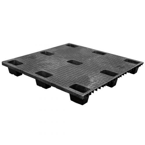 Solid Deck Nestable Plastic Pallet